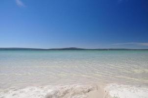 laguna di langebaan - parco nazionale della costa occidentale, sud africa