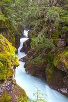 gola delle valanghe, parco nazionale del ghiacciaio, montana foto