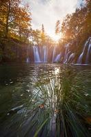 parco nazionale di plitvice, croazia foto