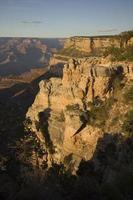 luce della sera al grand canyon foto