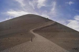 cono di scorie vulcano nel parco nazionale vulcanico di lassen foto