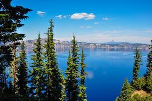 parco nazionale di crater lake, oregon, usa