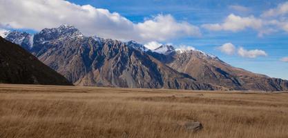 valli di tasman, parco nazionale di aoraki mount cook foto