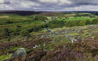 North York Moors in autunno, Goathland, Yorkshire, Regno Unito.