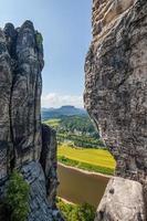 parco nazionale della svizzera sassone - bastei, germania