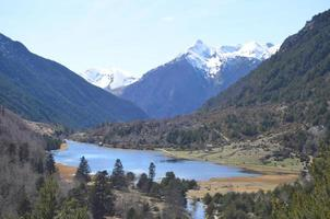 lago llebreta. parc nacional aiguestortes i estany sant maurici. catalogna