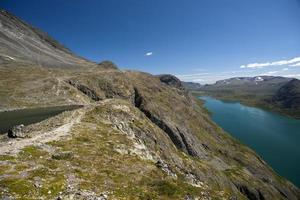 Besseggen Ridge nel Parco Nazionale di Jotunheimen, Norvegia