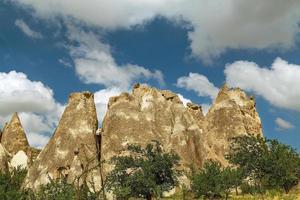 tacchino. museo all'aria aperta, parco nazionale di goreme. foto