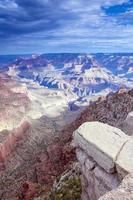 incredibile vista del grand canyon al mattino