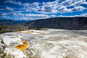 Mammut Hot Springs, Parco Nazionale di Yellowstone