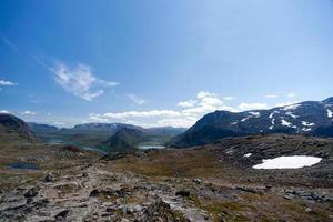 besseggen ridge nel parco nazionale di jotunheimen