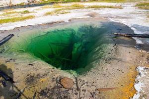 sorgente termale naturale, parco nazionale di yellowstone