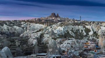 meraviglioso paesaggio della cappadocia in turchia