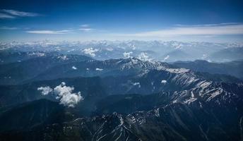 himalaya dalla vista dall'alto