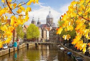 Chiesa di San Nicola, canale della città vecchia, Amsterdam