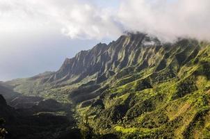 valle di kalalau - kauai, hawaii foto