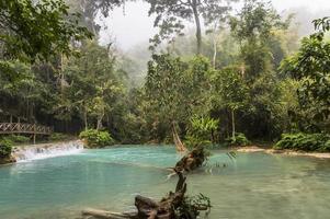 cascate di kuang si in laos