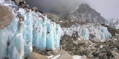 ghiaccio cristallino foto