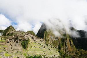 perù, rovine di machu picchu foto