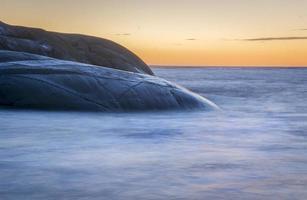 paesaggio marino silenzioso - lunga esposizione