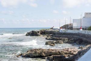 costa orientale sull'Isla Mujeres foto