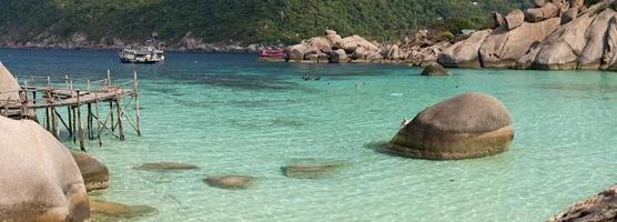 isola di koh nang yuan, thailandia