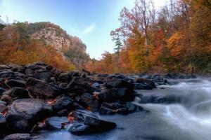 i colori dell'autunno nel canyon foto