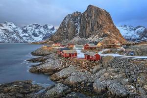 reine, lofoten, norvegia