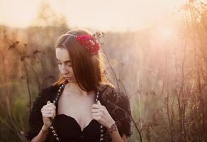 ragazza d'autunno