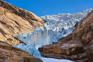 ghiacciaio briksdal - norvegia foto