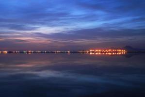 sunruse al lago di tunisi
