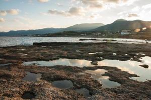 Seascape vicino a Monemvasia, Peloponneso, Grecia foto