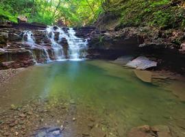 tranquillo scenario della cascata