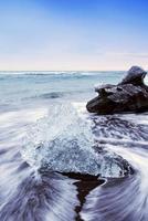 spiaggia di ghiaccio di jokulsarlon