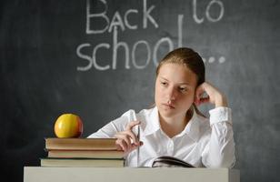 studente depresso foto