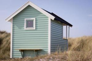 cabana sulla spiaggia foto