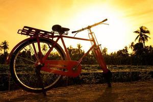 bicicletta rossa.