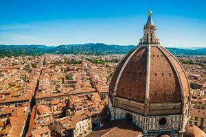 la basilica di santa maria del fiore, firenze, italia