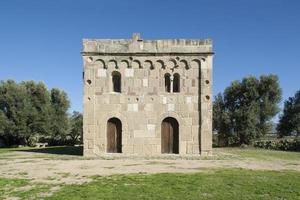 chiesa di santa maria di sibiola, serdiana (sardegna - italia)