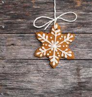 biscotto fiocco di neve foto