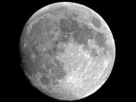 Luna piena foto