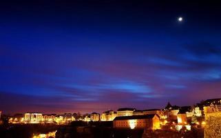 crepuscolo in lussemburgo foto