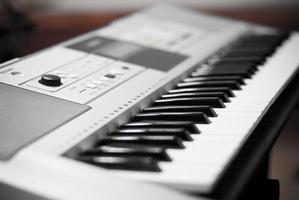 tastiera musicale elettrica foto