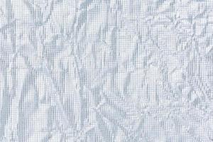 sfondo di carta argento rugosa