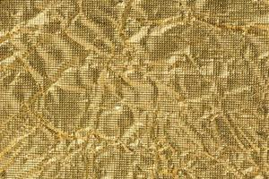 sfondo di carta dorata rugosa
