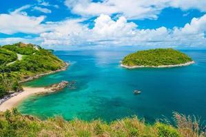 promthep cape, punto di riferimento di phuket, thailandia