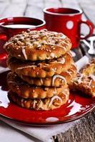 biscotti rotondi foto