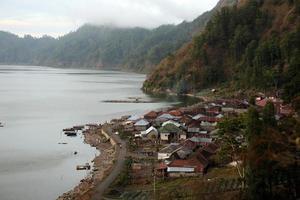 asia bali batur lake village
