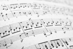 pagine di spartiti musicali