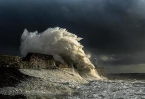 luce della tempesta foto